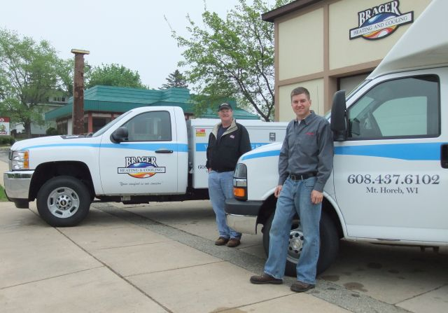 About Brager heating and air conditioning